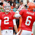 Cleveland Browns naming a starting QB (Brian Hoyer) can't come soon enough ...