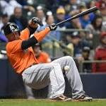 Will Giancarlo Stanton's injury bring better protection for hitters?