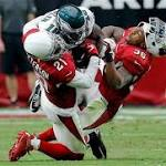 Peterson sidelined after collision with Maclin