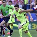 Messi leads Barcelona to Spanish soccer title