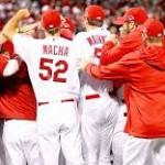 Cards rout Dodgers, win NL pennant