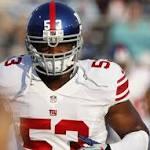 Giants' Jameel McClain nominated for NFL's first-ever sportsmanship award