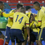 Colombia ends US Olympic dreams 2-1; Yanks finish with 9 men
