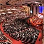 Mormons from around world to gather for weekend conference