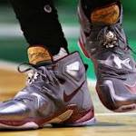 LeBron gives shoes to teen with brain damage at TD Garden