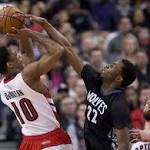 Wolves come up short in Wiggins' professional hometown debut