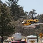 Zermatt fire in Wrightwood 20 percent contained; evacuation lifted