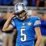Lions cut kicker Henery after loss to Bills