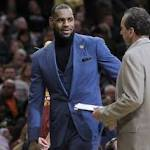 """Continuous sitting"" is a problem for LeBron James and the Cavaliers"