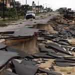 Storm nips Florida coast