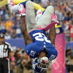 Giants Running Back Wilson Won't Need Neck Surgery, NFL.com Says