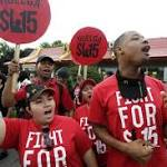 Big labor spending big bucks on co-ordinated fast food protests