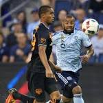 Stoppage goal gives Dynamo 3-3 draw with Sporting KC