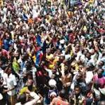 How 10000 Maiduguri youths march against Boko Haram. Willing to fight the terror
