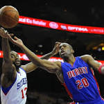 Sixers' stingy defense guides them past Pistons