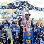 Earnhardt Jrs win allows special light to shine on boss Rick Hendrick