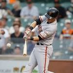 Giants fall short in suspended game, 2-1