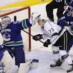 Canucks crown Kings, move closer to clinching playoff spot