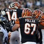 Sanu comes up with big plays in Bengals win over Ravens