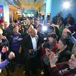 "Gov. Deval Patrick rallies Democrats for Martha Coakley: ""I feel like kicking a ..."