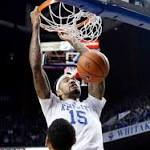 No. 1 Kentucky pulls away from Boston U 89-65