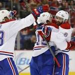 Helm's 2nd goal gives Red Wings 3-2 victory over Canadiens