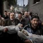 Press photo group stands by winning shot of Gaza funeral