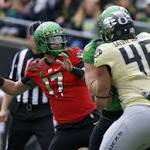 Oregon's Jeff Lockie states his case to be next starting quarterback in efficient ...