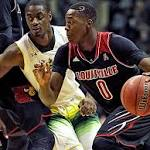No. 9 Louisville routs South Florida 86-47