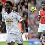Swansea City v Arsenal, Premier League: live