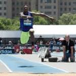 David Wilson's triple jump debut didn't go as he had hoped
