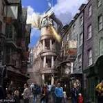 Sneak peek inside Harry Potter World's Diagon Alley