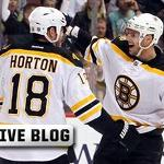 Bruins-Sabres Live: Anton Khudobin Stands Tall, B's Score Twice in Third to Win ...