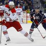 Hobbled Blue Jackets try to snap 6-game slide vs. 'Canes