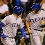 Mariners lose 8-3 to Rangers