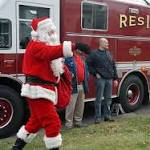 Santa's Express hits Fairfield streets before Christmas Eve travels