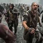 'Noah' filmmakers meet with Pope Francis
