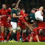 Wales v South Africa, Autumn International Test: live