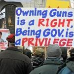 Gun rights rally draws over 5000 people