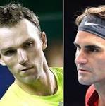 Roger Federer v Lucas Pouille, Paris Masters: live