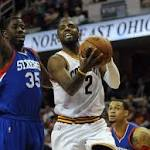 Cavs stagger past 76ers for 11th straight win