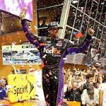 Wrong call: Decision to stay out on older tires dooms Denny Hamlin