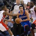 Raptors finish off season sweep of Sixers