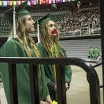 MSU students turn backs on George Will at commencement