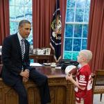 Jack Hoffman visits President, raises cancer awareness (AUDIO)