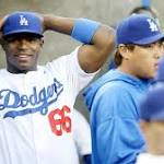 MLB investigation finds no reason to discipline Dodgers' Yasiel Puig