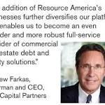 Resource Capital Corp.'s External Manager to Be Acquired by C-III Capital Partners LLC