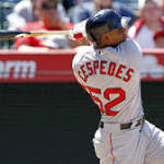 Yoenis Cespedes Picks Perfect Spot For First Homer In Red Sox Uniform