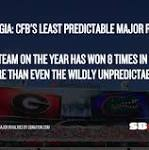 Florida-Georgia is the most unpredictable major rivalry in all of college football