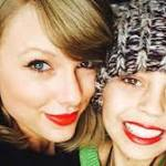 'Best present ever!' Taylor Swift visits young fan with cancer for Christmas